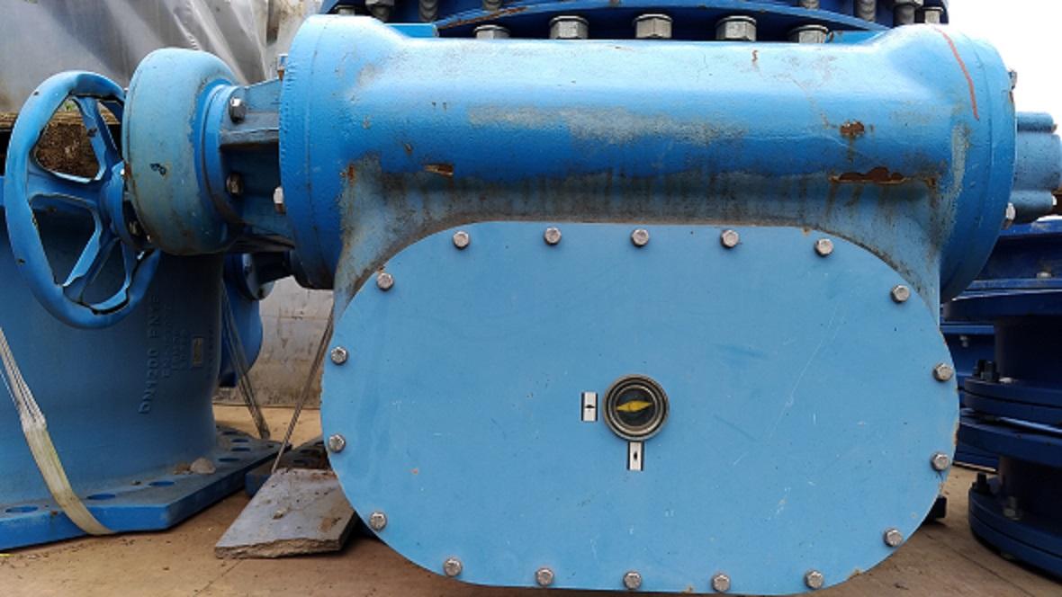 Затвор дисковый поворотный ДУ 1200 (DN 1200)