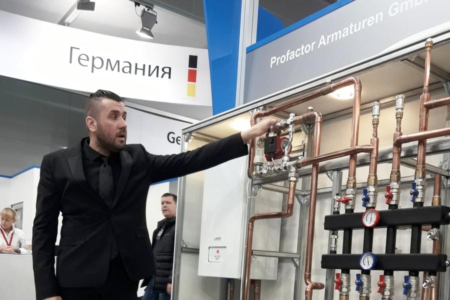 Aquatherm Moscow – 2019: Встречи, интервью, репортажи - Изображение